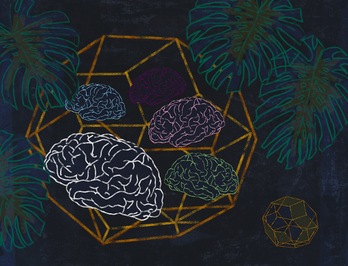 The geometry of consciousness is a multi-dimensional math trip