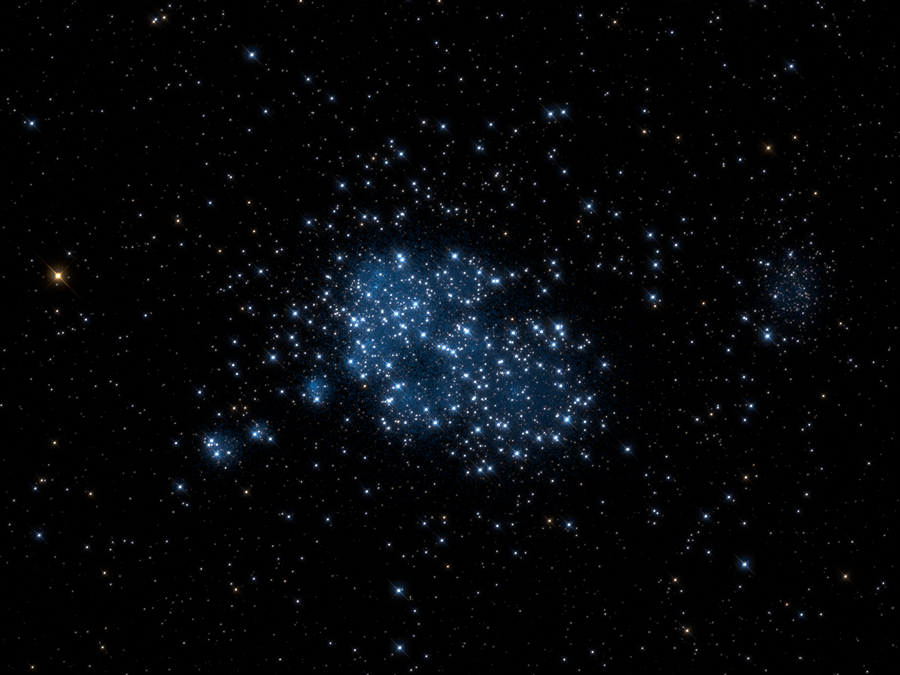 Tracking how stars grow up in a virtual playground