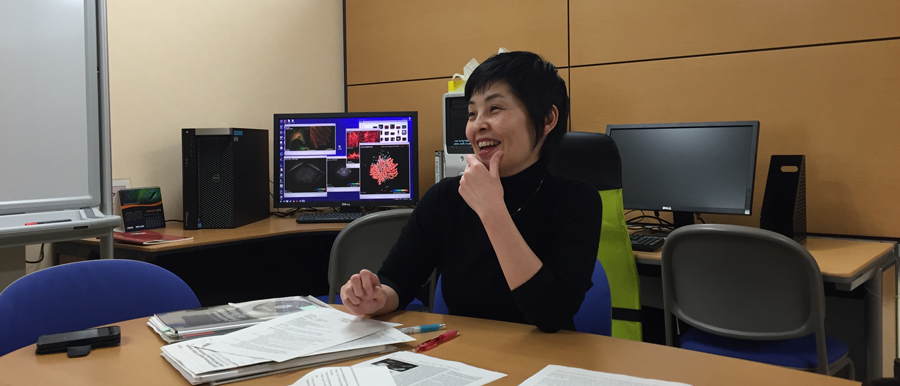 interview with Yoko Kiyosue