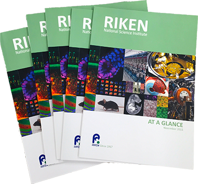 RIKEN at a Glance booklets