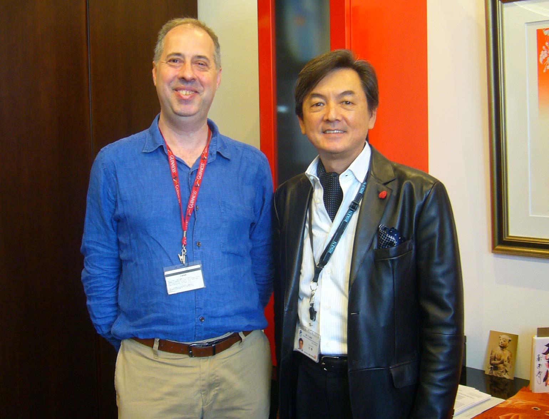 Dr. Tsuji and Jens
