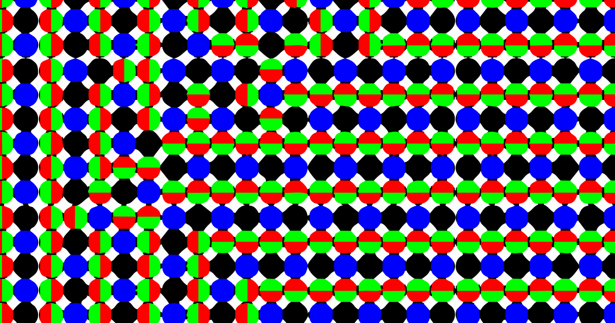 schematic of the computational output for dynamic pattern formation