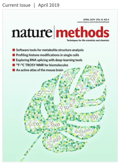 image of nature methods cover