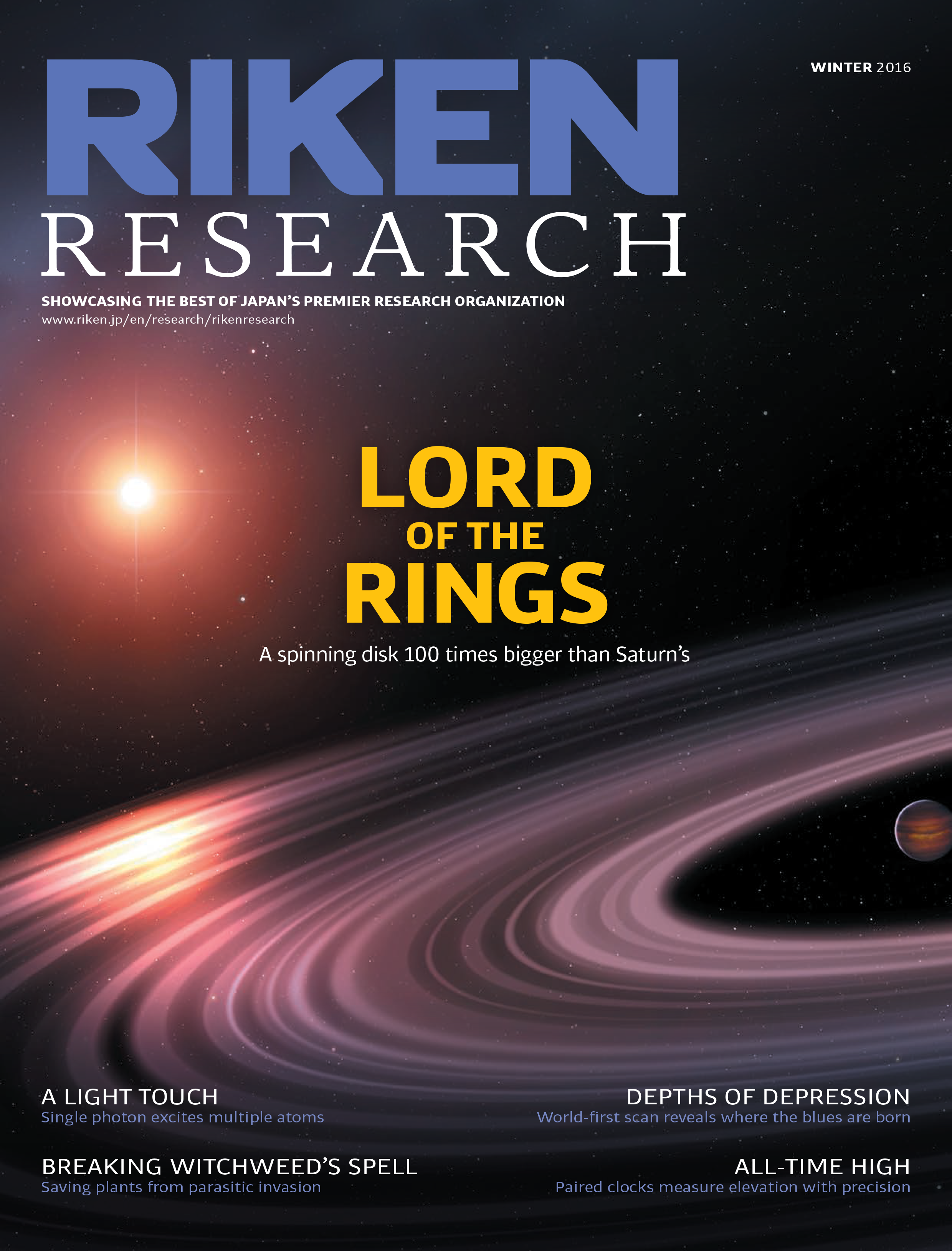 RIKEN Research Winter Issue