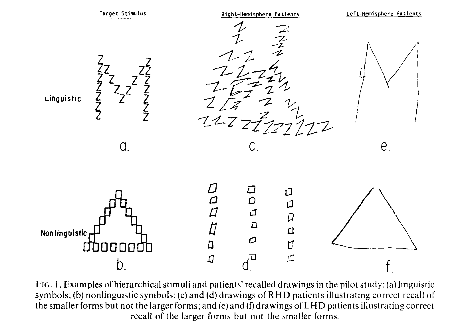 From: Delis DC, Robertson LC, Efron R (1986) Hemispheric specialization of memory for visual hierarchical stimuli. Neuropsychologia. 24(2):205-14.