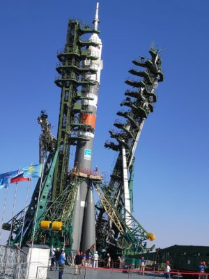 Mini-EUSO launched to the International Space Station ?