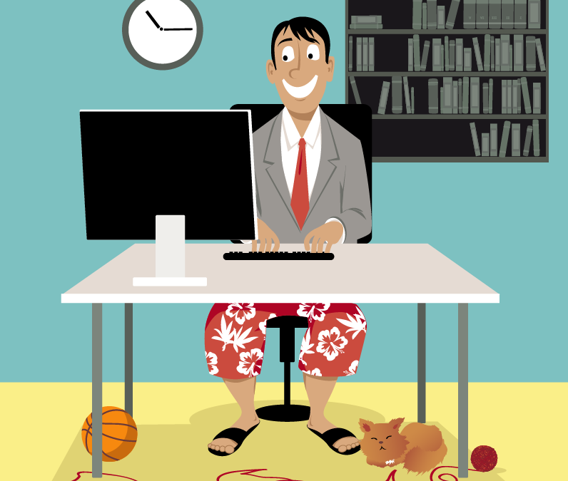 Telework: a societal game-changer